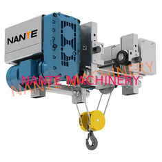 12.5 Ton Low Headroom Electric Hoist Steel Rope Hoist For Warehouse